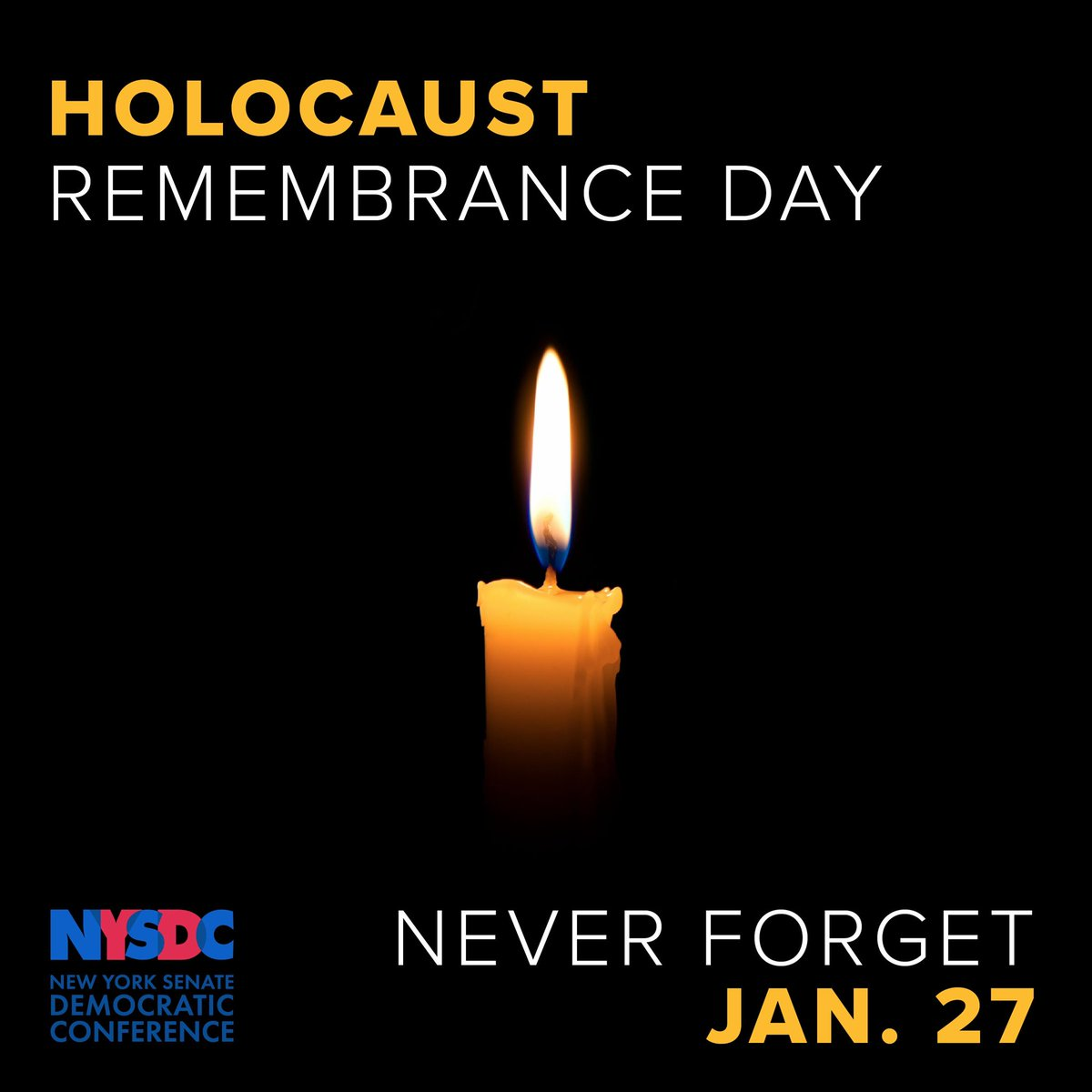 On #HolocaustRemembranceDay  we pay tribute to the millions of lives that were lost & honor the survivors.   May the tragic history be lessons for the present & future as we stand up against bigotry, discrimination, hate, & violence when we see it & build a peaceful & just world.