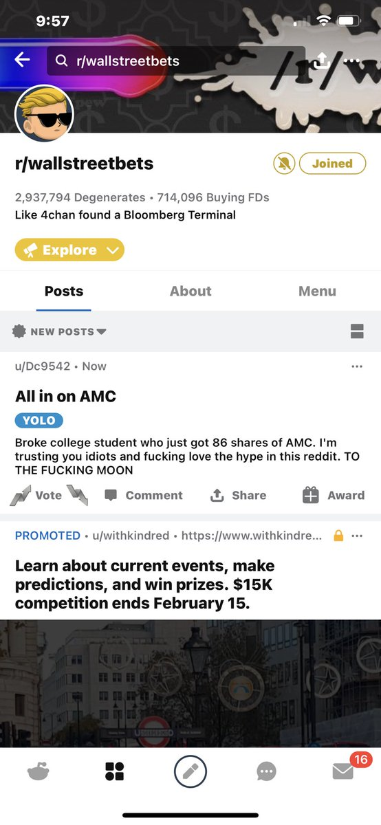 @brother_swiss @WSBChairman Almost 3 million Crazy LETS RIDE PEOPLE RETAIL RULES  $AMC 🔥🔥🔥🔥 $100+ #SaveAMC