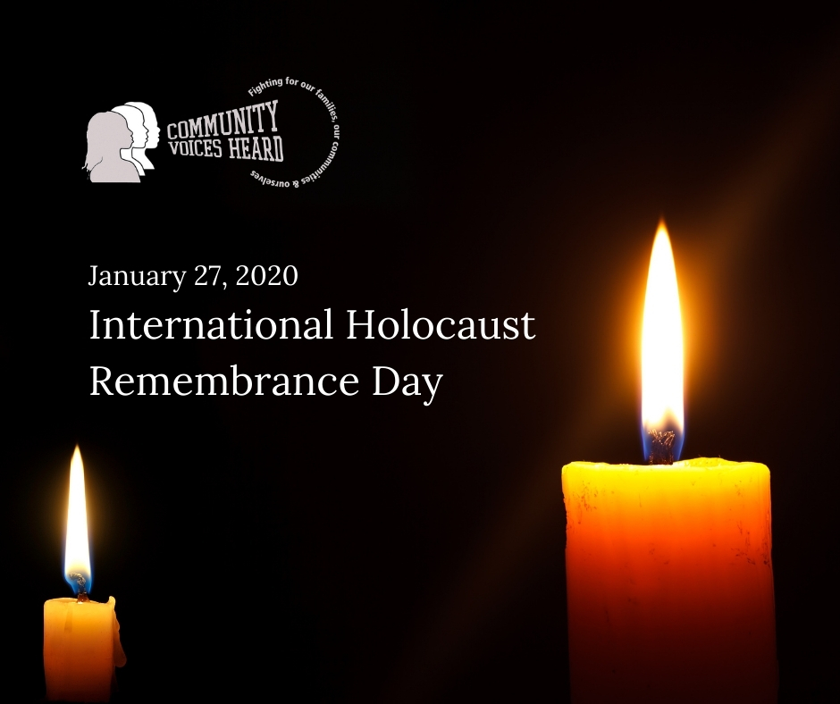 Today we commemorate #HolocaustRemembranceDay. We stop to remember this tragedy that resulted in the deaths of over 6 million individuals of the Jewish faith and millions of others. We also recommit to the continued fight against all hate and bigotry.