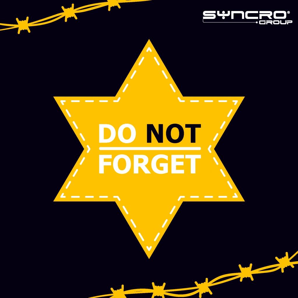 Holocaust remembrance day.🙏 Never Forget, Never Again.🕯 #holocaustremembranceday #neverforget #SyncroGroup #Plasmac #PlantechCst