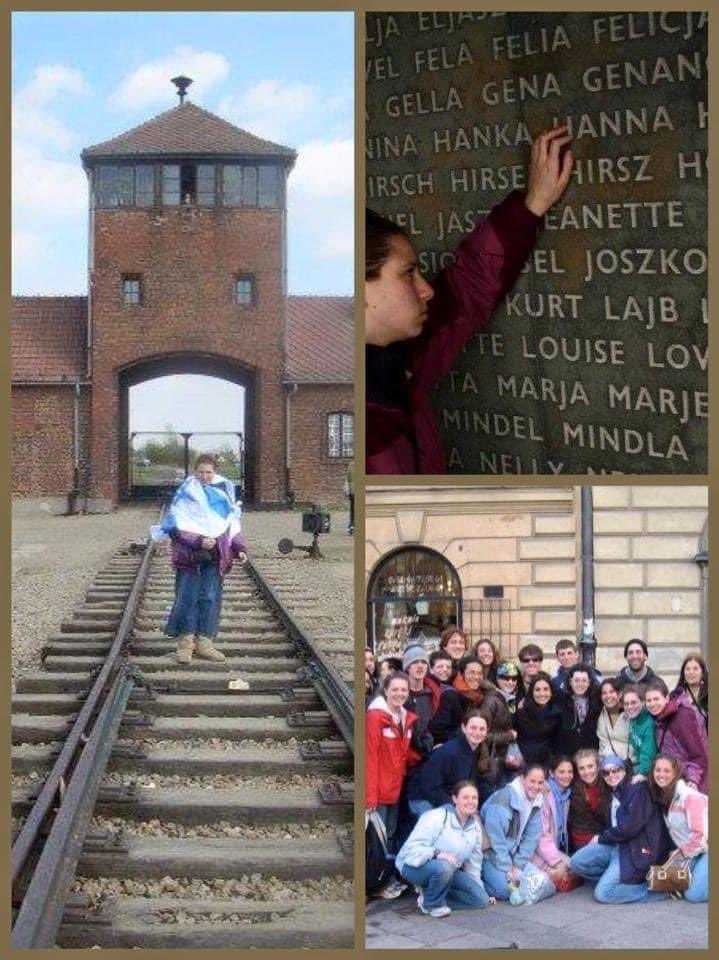 On #HolocaustRemembranceDay, I'm reminded of my time in Lithuania & Poland w/@prozdor. We should remember & honor survivors not only today, but everyday.We must continue to tell their stories & educate those around us,teaching the next generation,so #NeverAgain means never again.