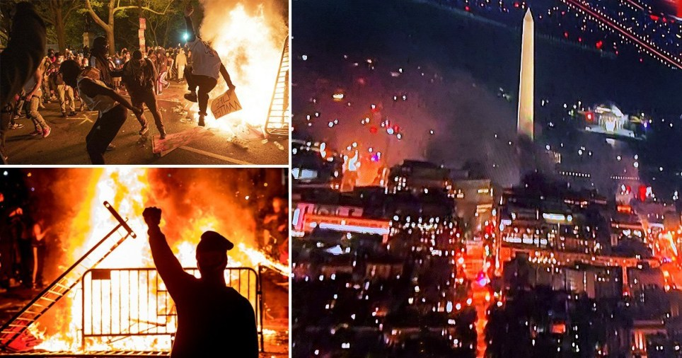 #TrumpTerrorists  😄  350 Trump rallies , meetings , gatherings all over the country .   0 buisnesses burned , cops assaulted , people hurt.    Democrats ... 👇  All summer long .  🖕