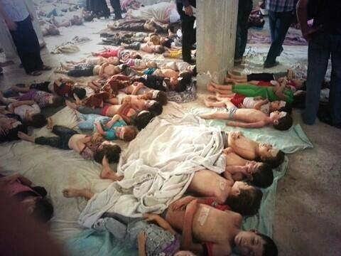 I see #Auschwitz trending today and i wonder if one day these little ones who perished by Gas in Syria will be remembered in history i don't know their names all i know is they were innocent. #NeverAgain