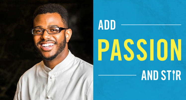 """I think we have an obligation to the community to give access to people that can't afford these really fancy meals, that just need food."" Chef Kwame Onwuachi talks about race, economics, and #COVID19 on #AddPassionAndStir. Learn more:"