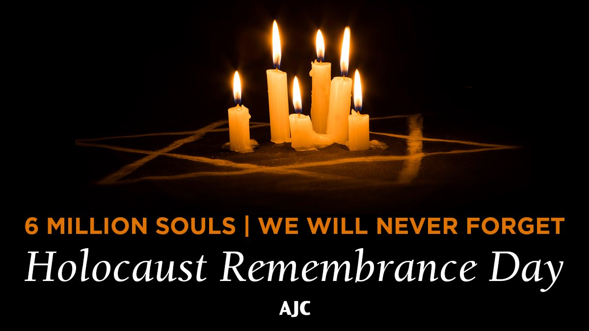 Remembering today: Abraham and Bertha Richard, Fanny and Bernhard Markus, Selma Traub, Erna and Sally Katz and their baby Eli, Karl Klaar, Sigmund and Gitta Klaar, and Irma and Karl Beer and their baby Gunther. We won't ever forget you again. #HolocaustRemembranceDay #WeRemember