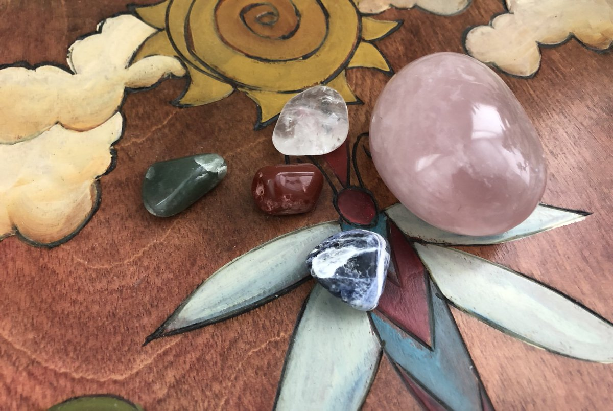 my crystals are so pretty look at them 🥺
