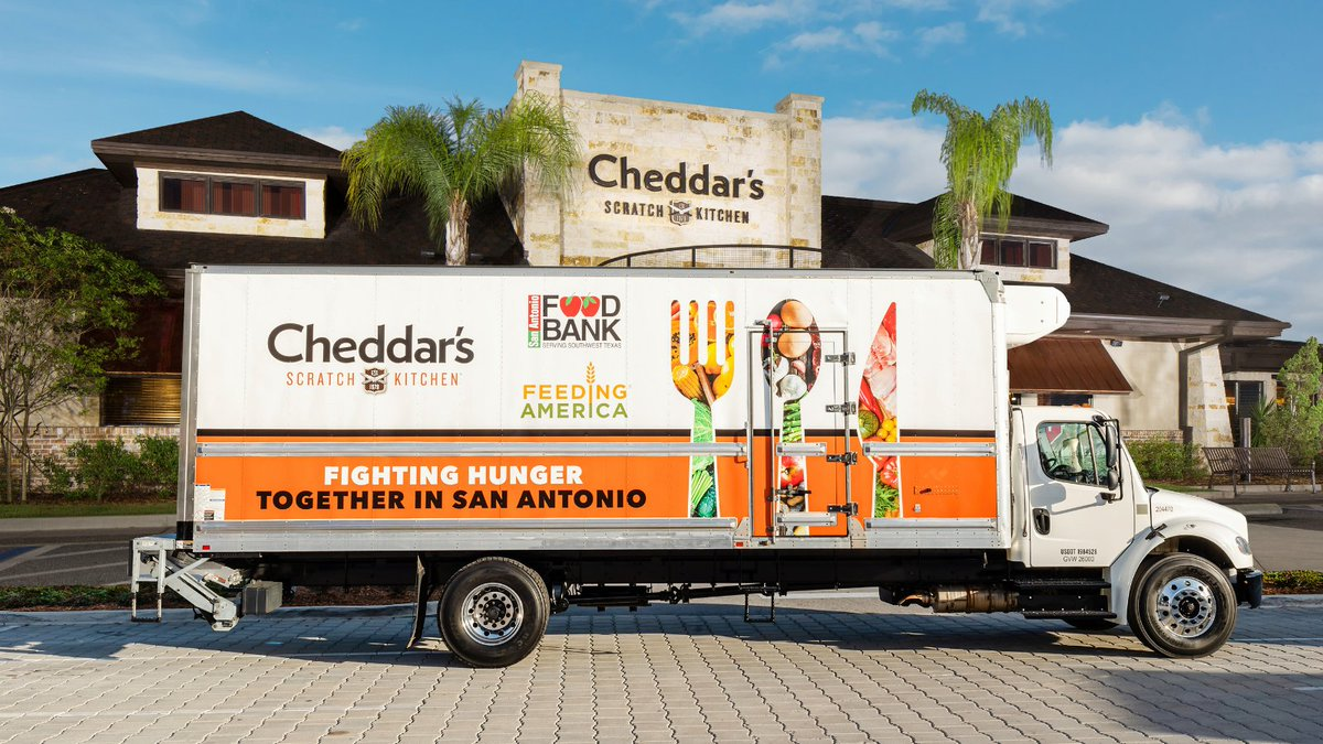 We're proud to help scratch out hunger by partnering with @FeedingAmerica to provide five mobile food pantries that will serve communities in need. Click here to learn more about our fight against hunger: https://t.co/47bZLqZOK0 https://t.co/Eo4nV5AJqs