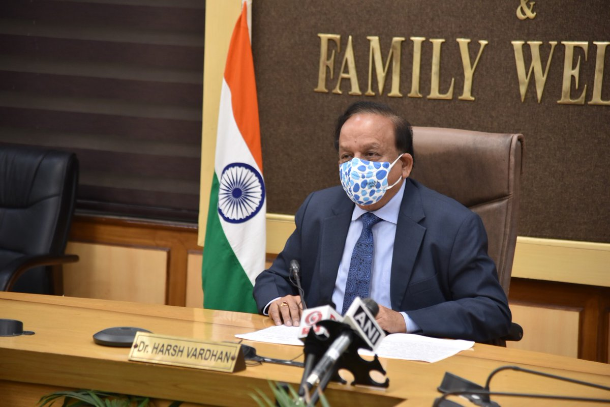 .@drharshvardhan addressed 4th edition of the @FIIKSA Forum today.   He stated that @SerumInstIndia 's #COVISHIELD will be supplied to Saudi Arabia.