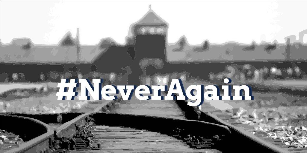 Wenn Impfgegner*innen mit Judensternen durch die Straßen ziehen, ist eins klar: Wir dürfen niemals vergessen. Der Holocaust war ein Verbrechen. Er darf niemals verharmlost werden.   #neveragain