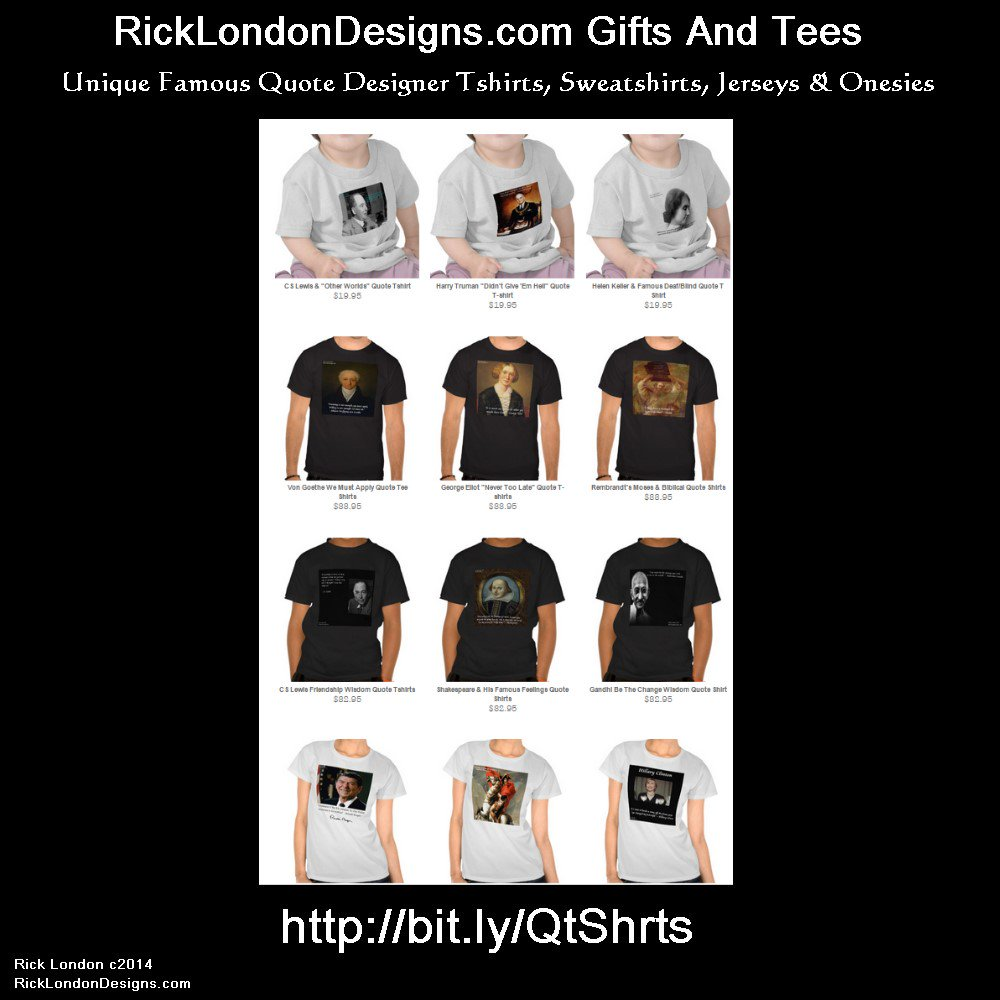 Featured in #USAToday #Famous #History #Quote #Tshirts by @QuoteGifts (Est 1997) #savemoney Order from the #convenience & #security of your own home #freepersonalization #gift #gifts #tees #tshirt @zazzle  🌏#WorldwideShipping 100% guarantee