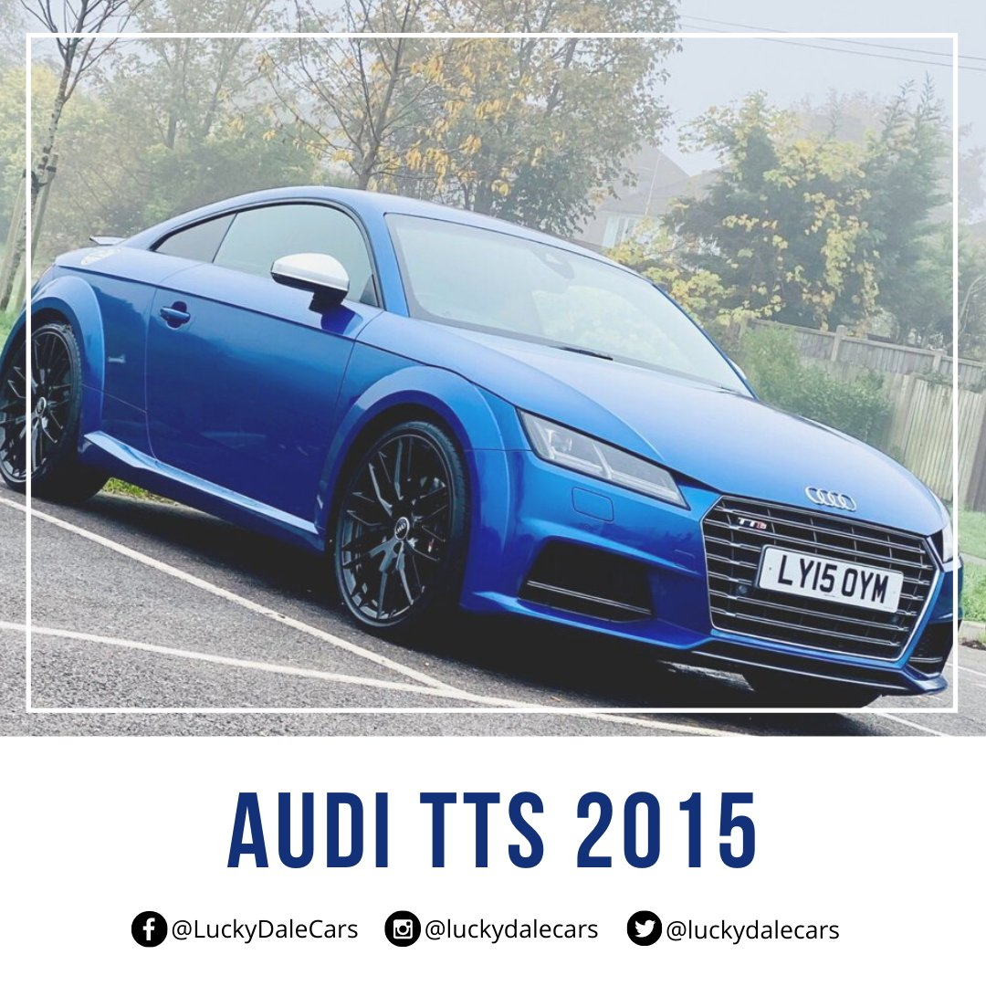 Used Audi TTS 2015 for Sale | Lucky Dale Cars Ltd  Know more:  Call us @ 020 80338958 | 07441 909524  #audi #wednesdaythought #WednesdayWisdom