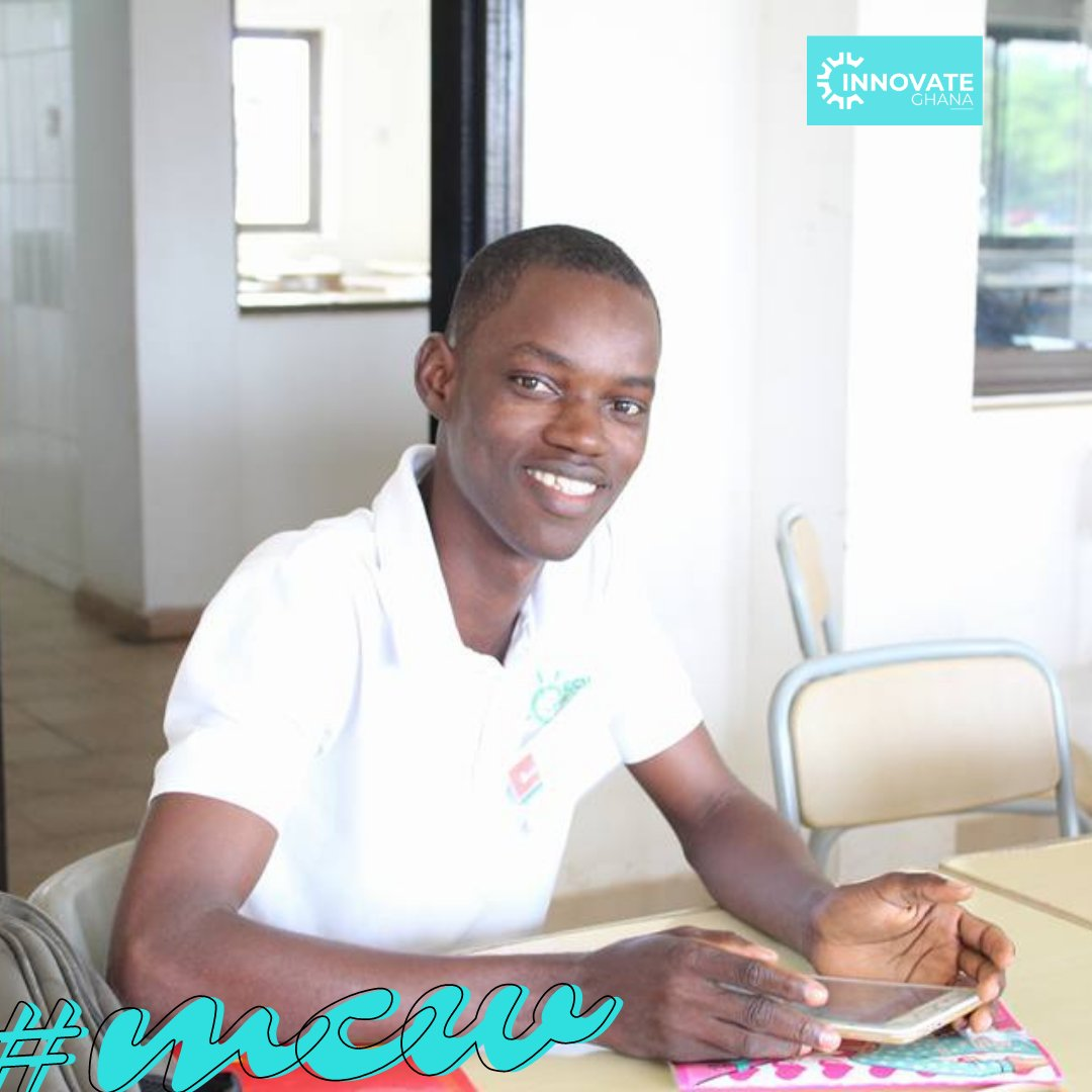 Meet our #mcw Nana Yaw Asare Samuel    He is an alumni of KNUST, Kumasi  & the founder and CEO of of @nastechpower , a solar energy company that specializes in off-grid solar technology development for communities in #Africa.  #winning #ghana #giz #innovative #InnovationChallenge