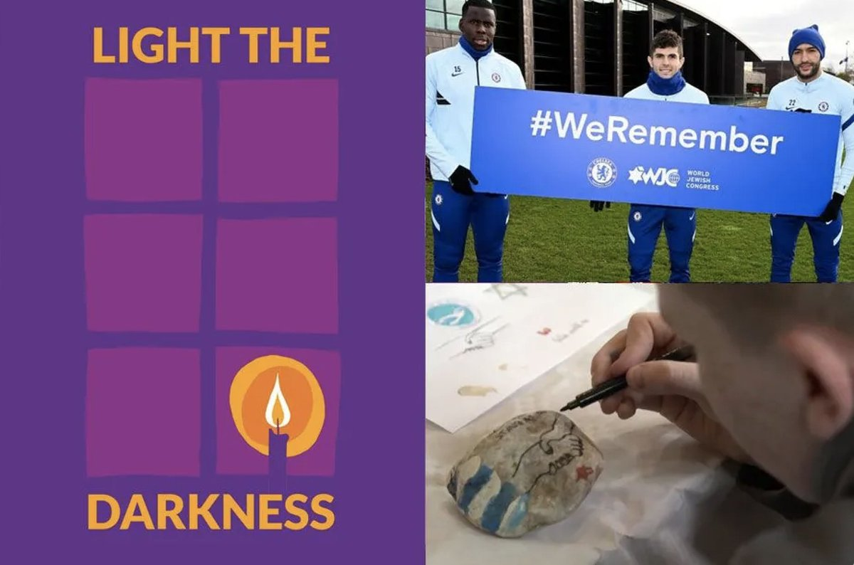 Players and clubs from around the #PL will commemorate #HolocaustMemorialDay by supporting the #LightTheDarkness campaign  ➡️