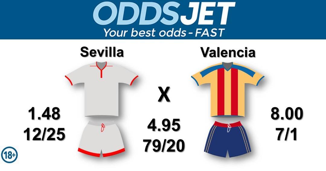 #CopadelRey, #SevillaValencia,  #LaLiga, #LaLigaSantander, #HayQueVivirla,  #SevillaFC, #VamosMiSevilla, #WeareSevilla, #WeNeverSurrender, vs. #Amunt, #Mestalla, #ValenciaCF, #AmuntValencia, Get your best odds - fast at