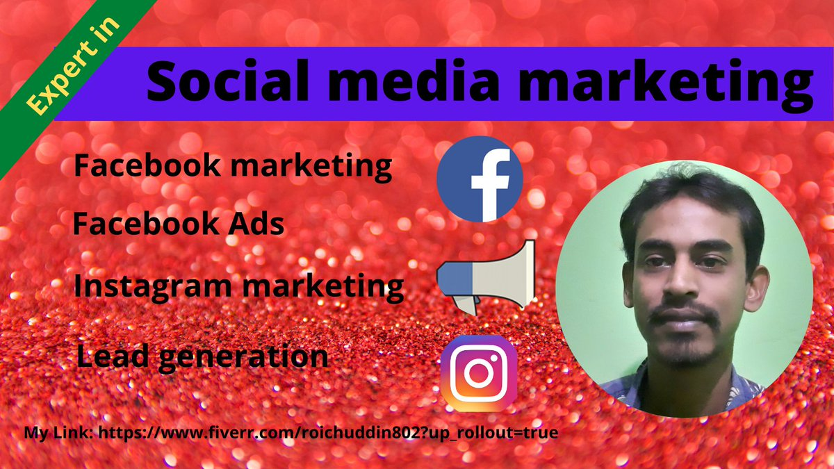 I am expert in social media marketing. I can promote any business. Visit my link: #Facebook #Twitter #linkedin #SocialMedia #Friends #business #Jobs #ad #DigitalMarketing #digitalmarketingagency