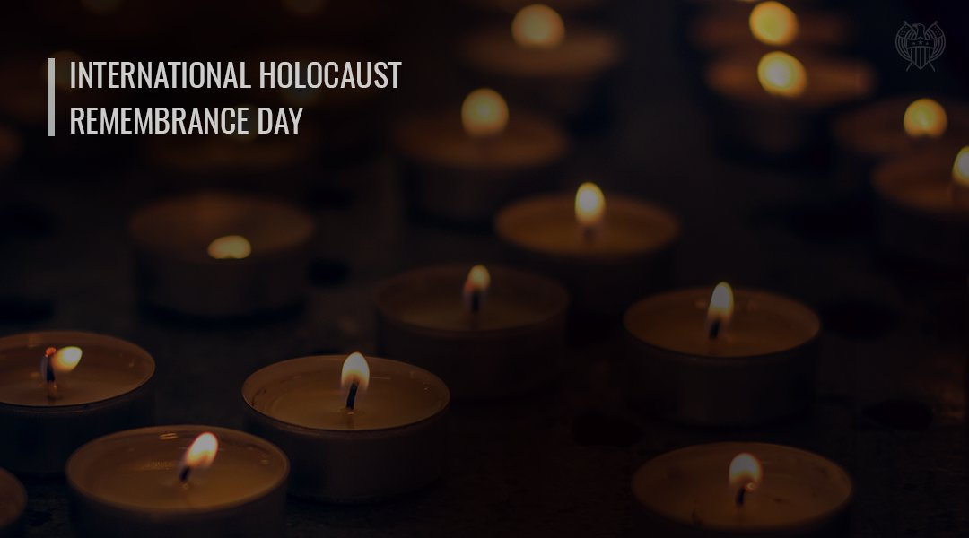 On #HolocaustRemembranceDay I join Wisconsin's Jewish community in remembering and honoring the victims of the Holocaust. #WeRemember #NeverAgain