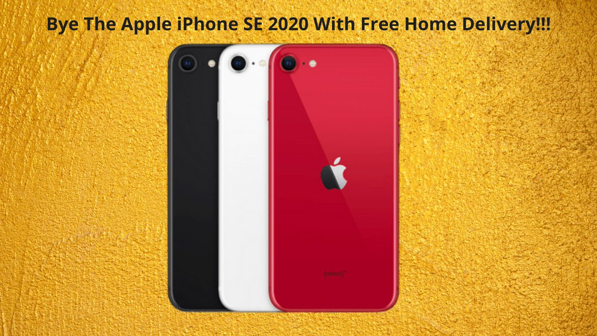 Bye The Apple iPhone SE 2020 With Free Home Delivery!!! Check It Out:- #Amazon #iPhone #phone #iPhone12 #iPhoneSEPlus #iPhoneSE3 #iPhoneSE #iphoneography #iphoneonly #photographer