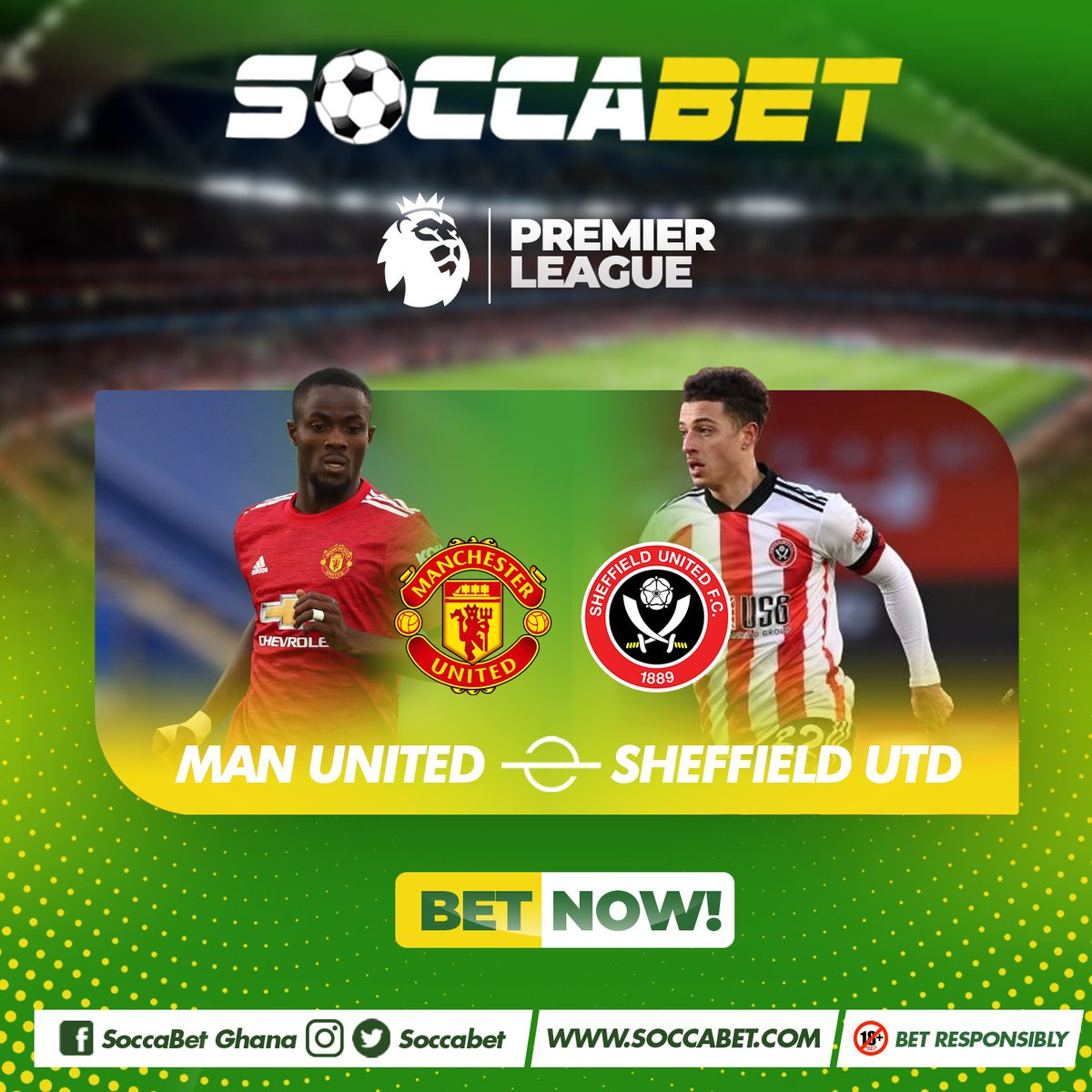 At the Old Trafford tonight the Reds of Manchester will be hoping to go back to the top of the @premierleague table as they host struggling @SheffieldUnited .  Login to  and place a multiple bet Now.  #ManchesterUnited #PL #Matchday  #SheffieldUnited  #bet