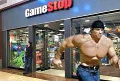 Running to my local GameStop to buy stock before they sell out