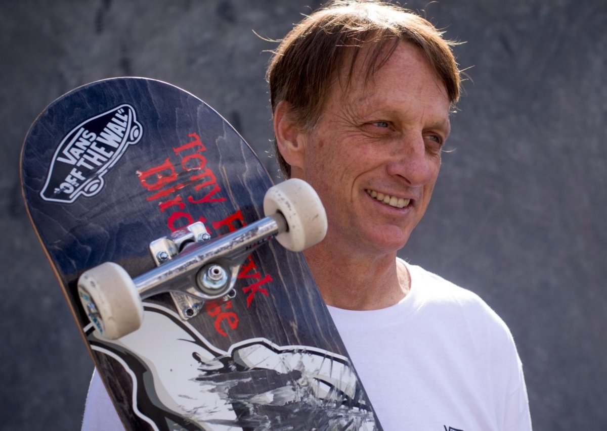 52-Year Old Tony Hawk Can Still Do A 720 And Not Have All Of His Bones Turn Into Dust