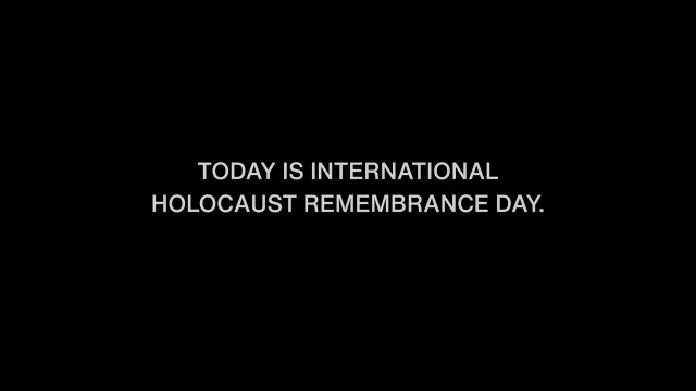 Today on #HolocaustRemembranceDay, #WeRemember and honor the six million Jewish lives and millions of non-Jewish lives lost during the Holocaust.  For resources on how you can combat hate, bias, and anti-Semitism right now, visit