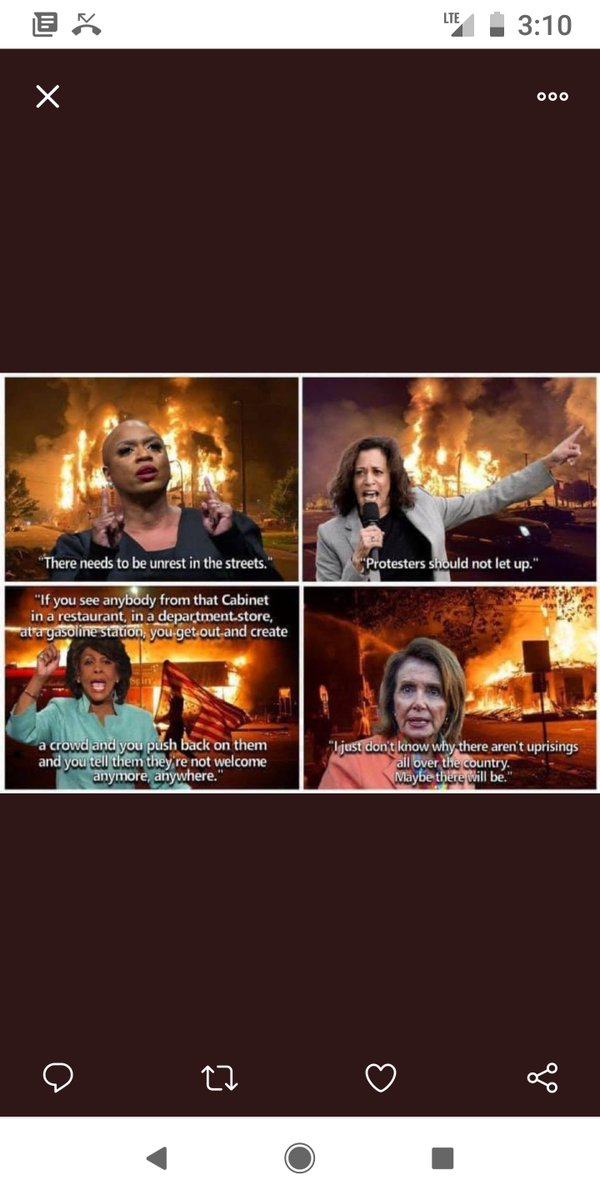 We need to have accountability for all those that support violence. Trump terrorists, Harris anarchists, Pelosi pyromaniacs... Don't lie to yourself and pretend it's different. Have the courage to want accountability. #TrumpTerrorists