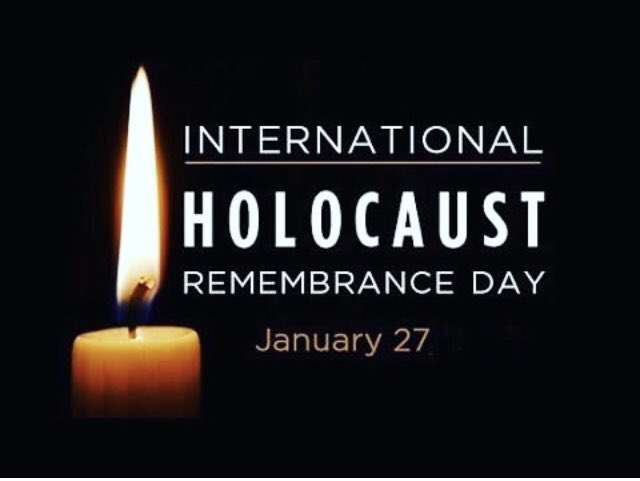 Today is International Holocaust Remembrance Day as well as the 76th anniversary of the liberation of Auschwitz. Never forget, never again. #internationalholocaustremembranceday #holocaust #shoah #auschwitz #neverforget #neveragain