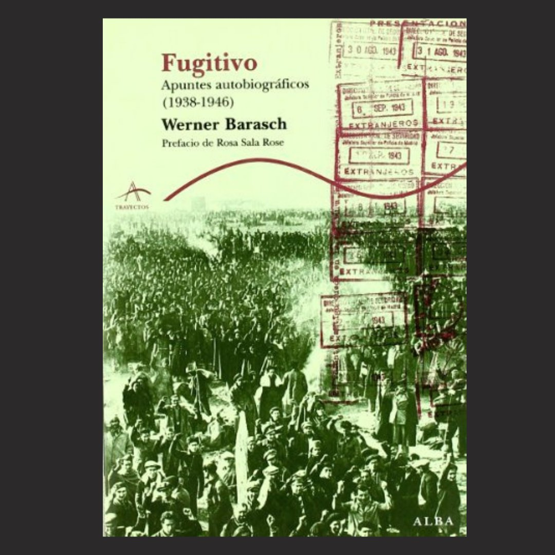 """#WeRemember Werner Barasch (Breslau, Poland, 1919 - Santa Cruz, USA, 2008) published a book with his memories, """"Figitivos"""". He reminds the prison #LaModel as a hot and crowded place, with over 10,000 inmates at that time"""