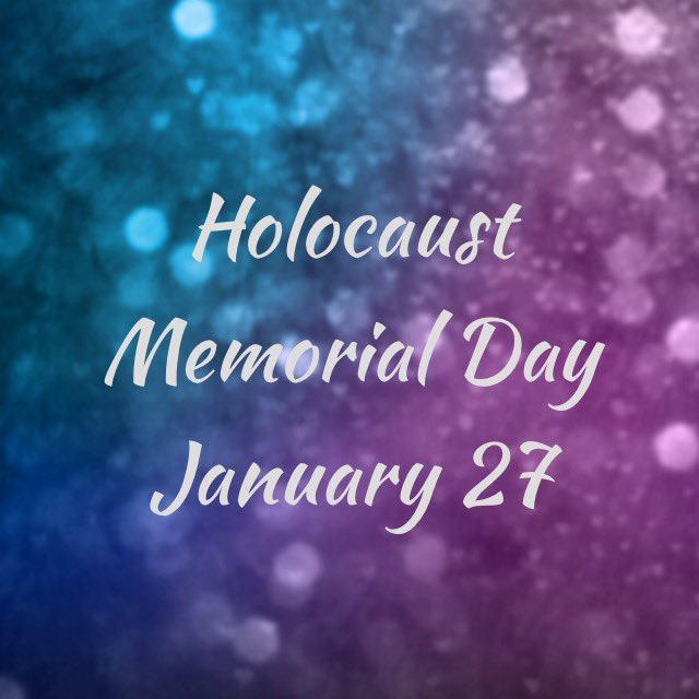 Be the light in the darkness.  Today we remember the 6 million Jewish people murdered in the Holocaust. 🕯 #choosepeace #peace #holocaustremembranceday