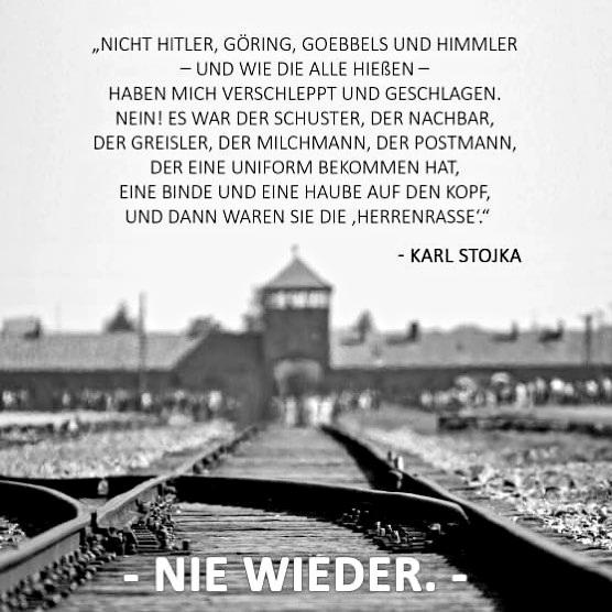 #NieWieder  #NeverAgain  #KeinVergessen