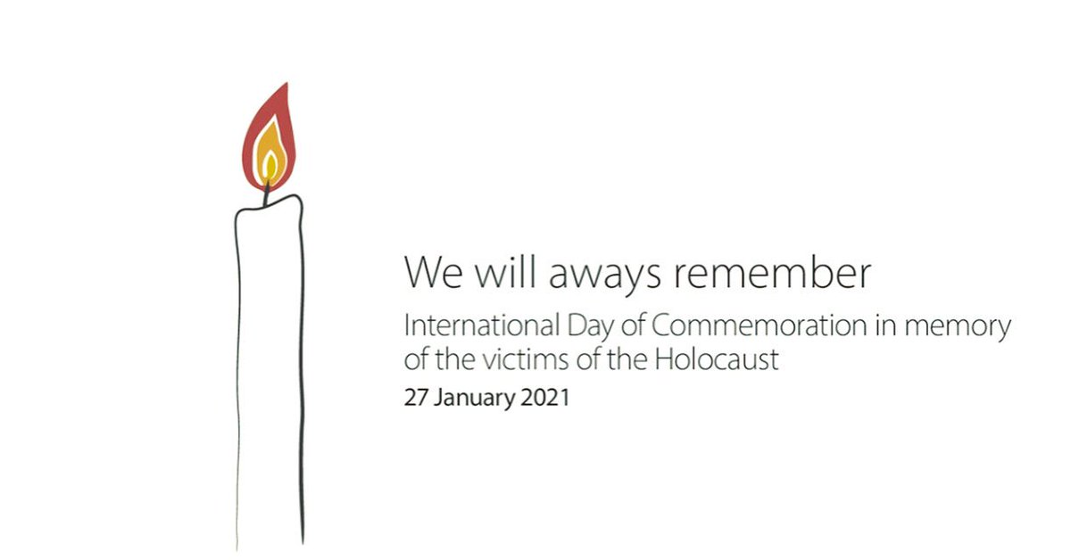 #HolocaustRemembranceDay #HolocaustMemorialDay #NeverAgain #NeverForget