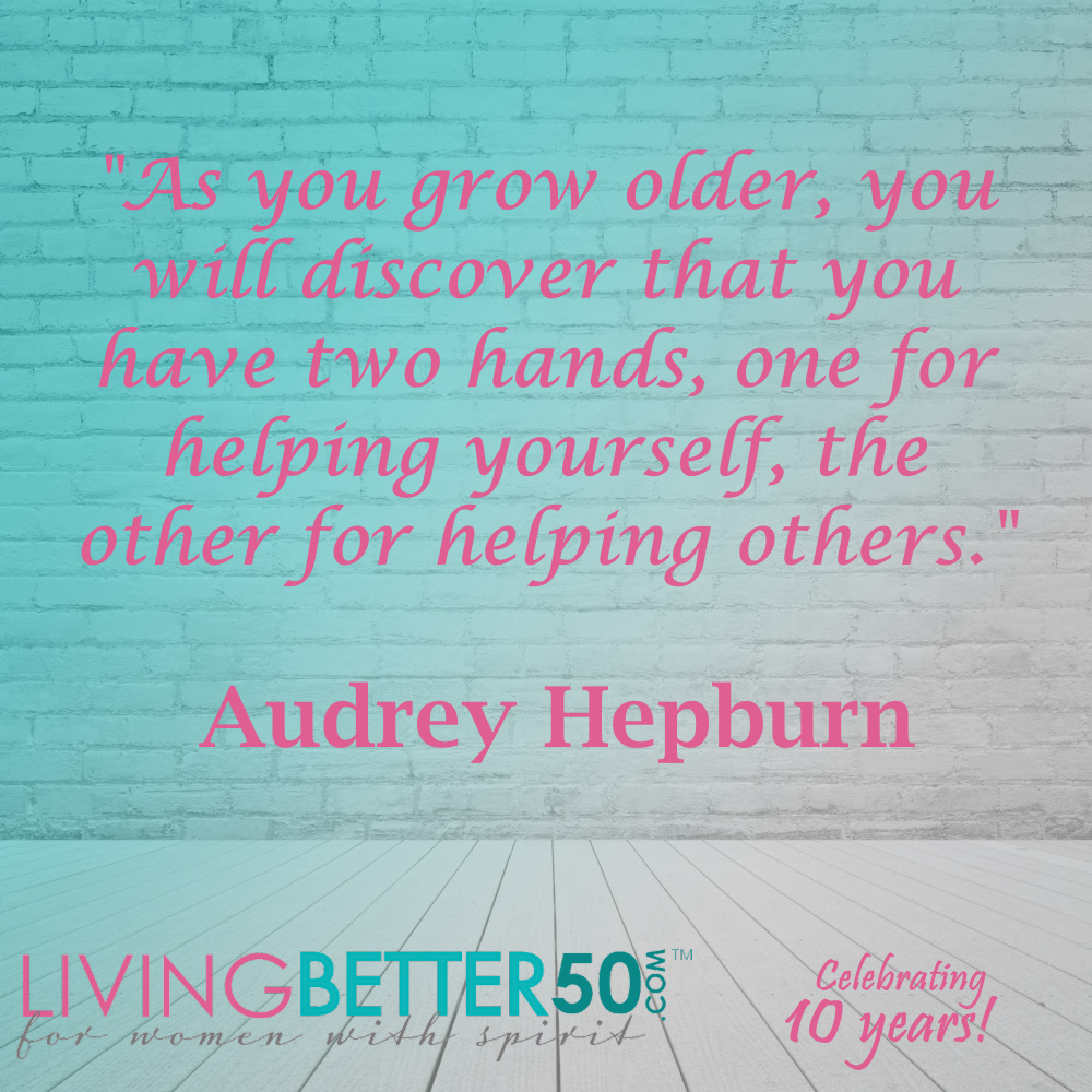 Are you helping those around you?  #inspirationalquote #quoteoftheday #wordsofwisdom #qotd #dailyquotes #dailymotivation #quote #quotes #quotestoliveby #quotesdaily #inspiration #wisdom #motivational #womenover50 #women #woman #livingbetter #Truth #Hero #heroine @audreyhep https://t.co/0Pr9CM5Exw