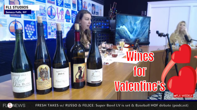 FLX WEEKLY: Wines for Valentines with Katherine Chase (podcast)
