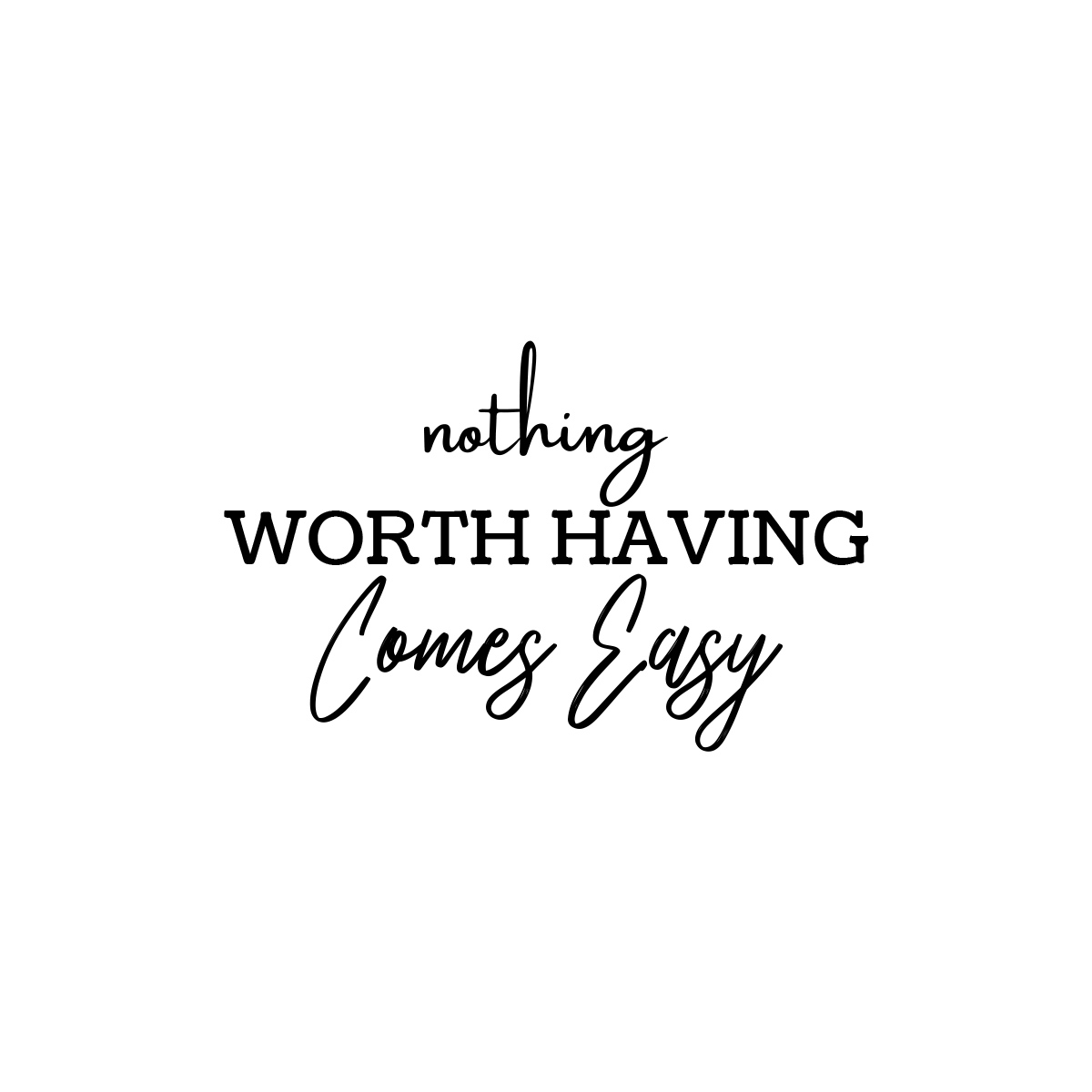 Nothing worth having comes easy.  #inspirational #inspirationalquotes #quote #quotes #motivation #inspiration #motivationalquotes #quotestoliveby #quotesaboutlife #quotestoinspire #quotestags #quotesforlife #positivequotes #inspiringquotes #quoteoftheday #quotesoftheday https://t.co/NNa2lTPQfQ