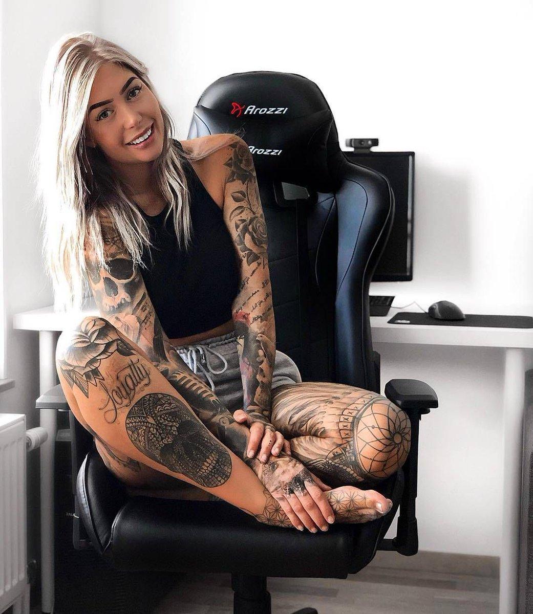 LIKE, COMMENT & RATE her #ink 1-10 ❤️❤️❤️❤️❤️❤️❤️❤️  #tattoomodelsscandinavia  #tat #instatattoo #tattooed #inks #sleevetattoo #instagood #cute #tattoist #tflers #tattoo #bodyart #love #coverup #inked #instaart #amazingink #tatts #norge #sverige #nordicgirls #danmark #dkmedier