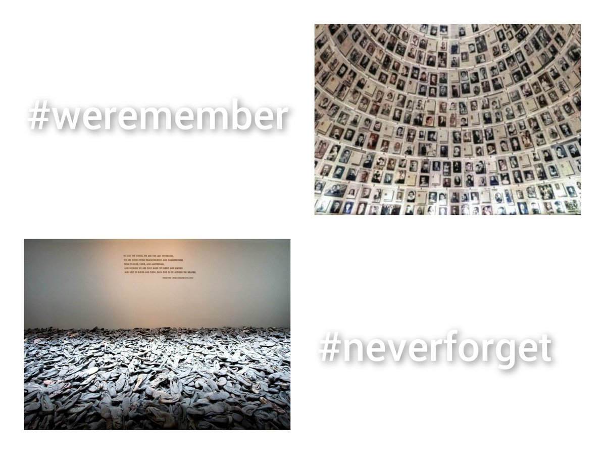 International Memorial Day 2021 #WeRemember #NeverForget #NeverAgain