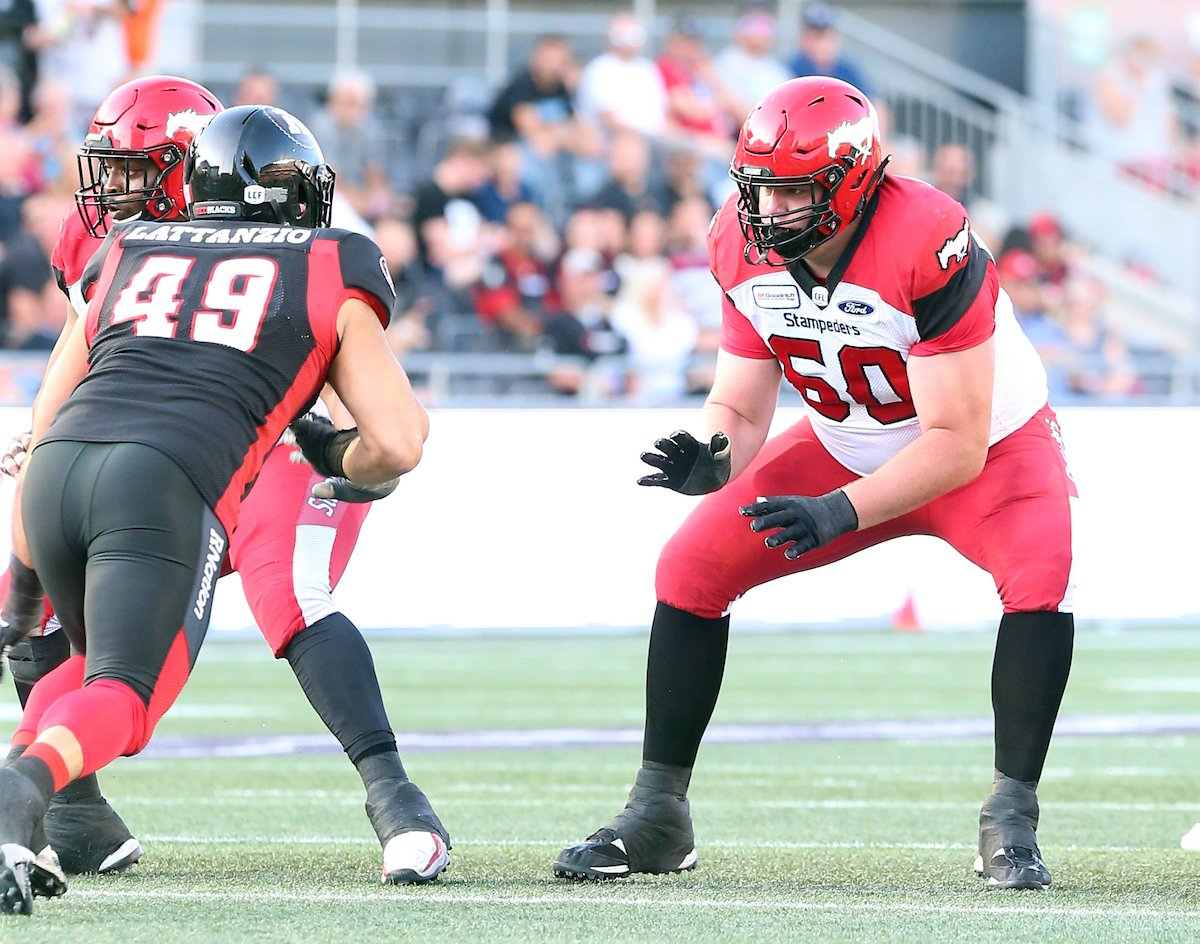 All-star Canadian offensive lineman Shane Bergman announces retirement at age 30    #Stamps | #CFL