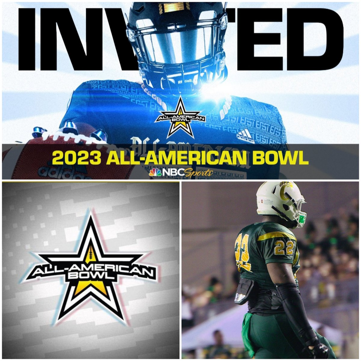 Congrats To James Smith On Receiving A Selection To 23' All-American Bowl. #MadhouseFit #Family #WeBuiltDifferent https://t.co/7OLmlFXO21