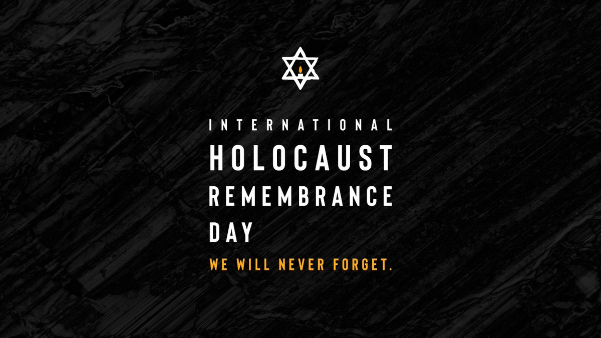 Today marks the 76th anniversary of the liberation of Auschwitz-Birkenau.  On International #HolocaustRemembranceDay, #WeRemember the millions of victims of the Holocaust and reaffirm our commitment to never forgetting their stories.