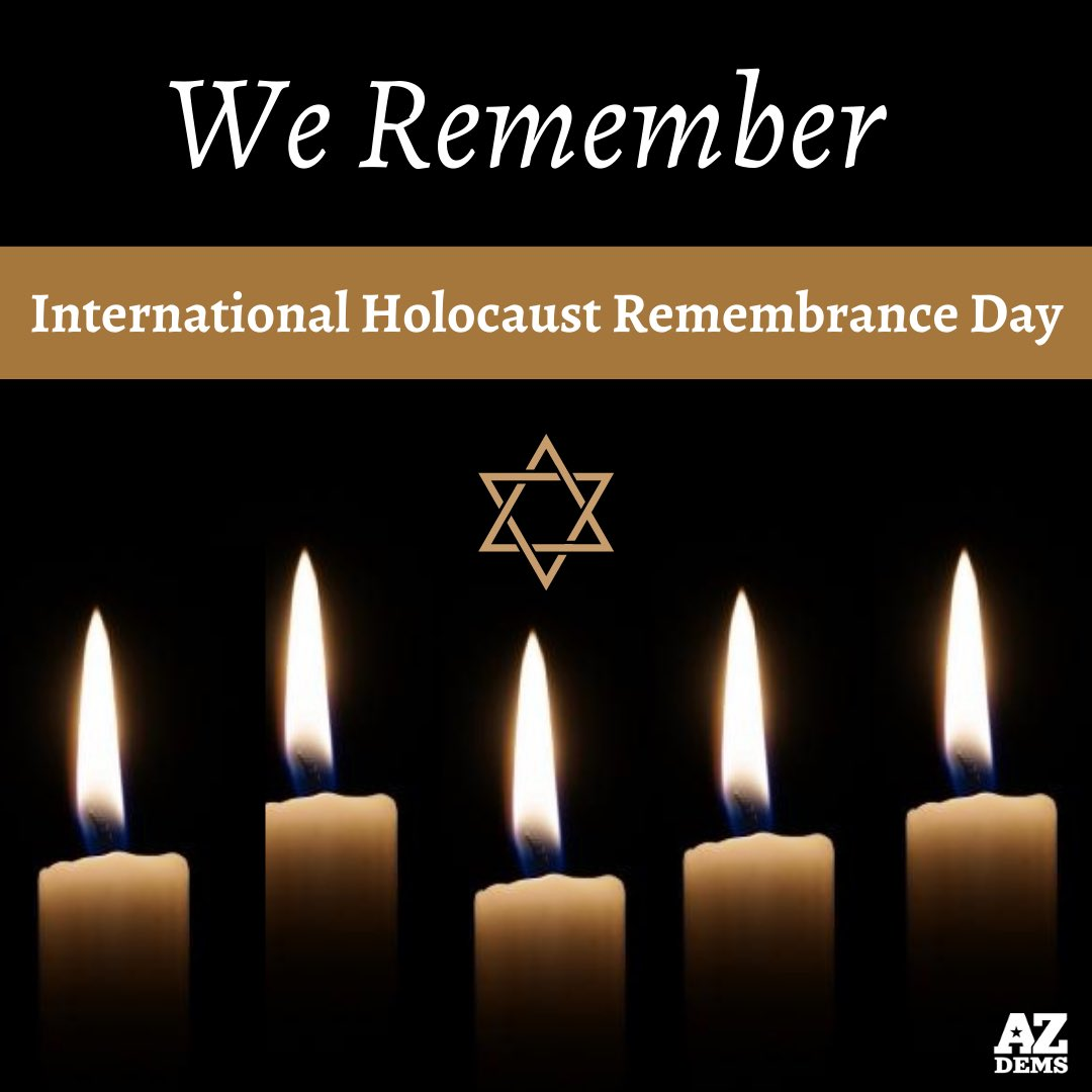 We will never forget. #HolocaustRemembranceDay