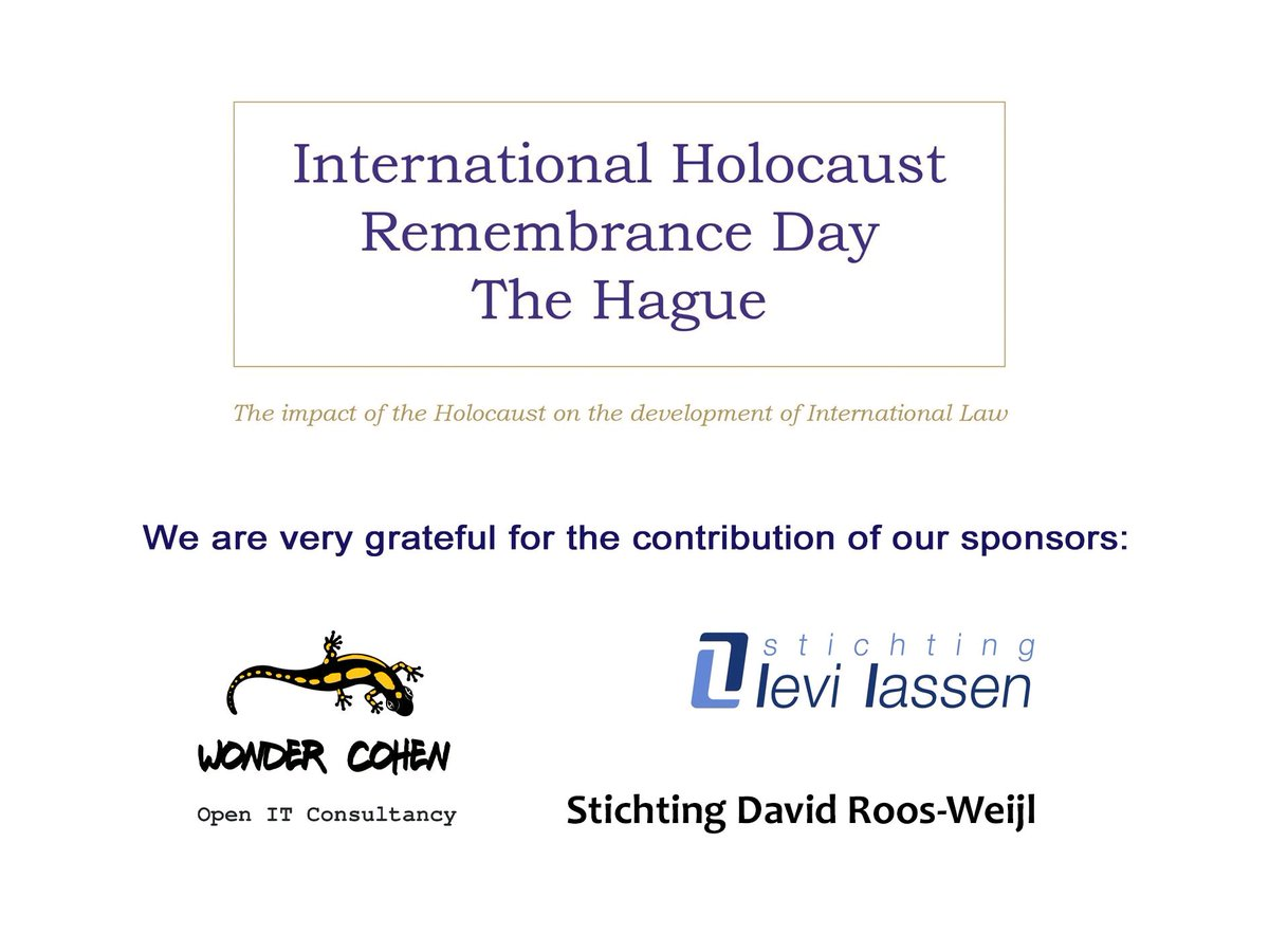 @EU_Commission #HolocaustRemembranceDay  Now live