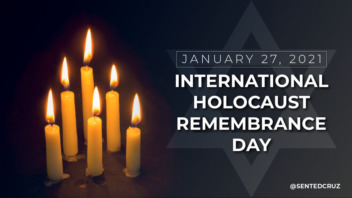 Today on International Holocaust Remembrance Day, #WeRemember the systematic murder of six million Jews by the evil Nazi regime. #NeverAgain