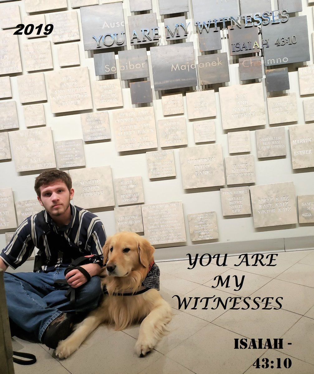 """You are my witnesses."" ISAIAH—43:10 #HolocaustRemembranceDay #NeverAgain #NeverForget   @FLHolocaustMus has a virtual tour available:   #HolocaustMemorialDay #TheFHM #Holocaust #history #foodallergies #dogsoftwitter #WaybackWednesday"