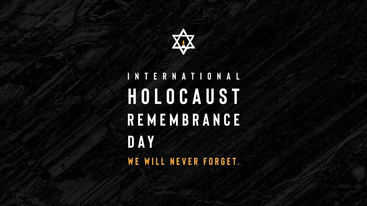 We will never forget the millions of lives lost as a result of the Nazi regime's horrific crimes during the Holocaust. As we recognize International #HolocaustRemembranceDay, let us continue to stand united against anti-Semitism, oppression, and intolerance. #WeRemember