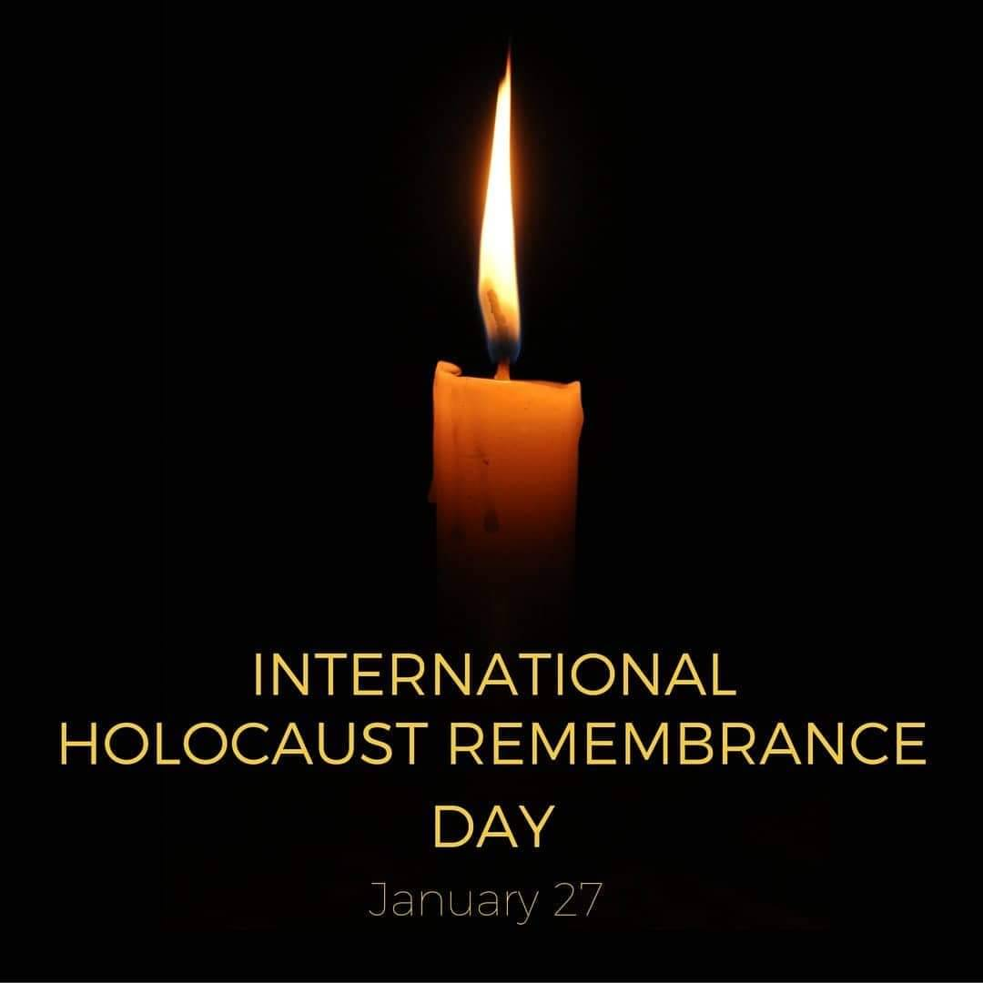 As we commemorate International Holocaust Remembrance Day, we honor the six million souls who perished during the horrors of WW II. May the memories of those who were lost forever be a blessing. #neveragain #InternationalHolocaustRemembranceDay