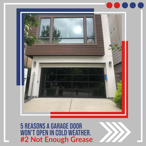 The amount of grease affects the smoothness of your garage door opening, which is why proper maintenance is essential for operation.  #winter #problems #notenoughgrease #garagedoor #garagerepair #garagedoorservice #homevalue #hardware #liftmaster #cypress #houston #katy #pearland