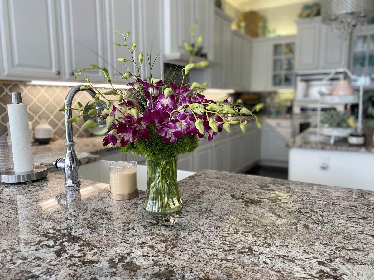 Early bday flowers from hubby. #sopretty #purple #love #flowers #mything #bdaygirl #flower #orchads #beautiful #nature #flowersofinstagram #flowerphotography #flowerarrangement