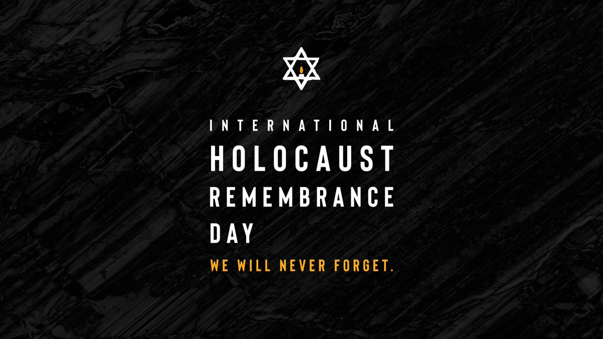 Today marks the anniversary of the liberation of the Auschwitz-Birkenau concentration camp.   We honor the memory of the more than 6 million Jewish victims of the Holocaust and the countless others who endured immeasurable suffering at the hands of the Nazi regime.   #NeverForget