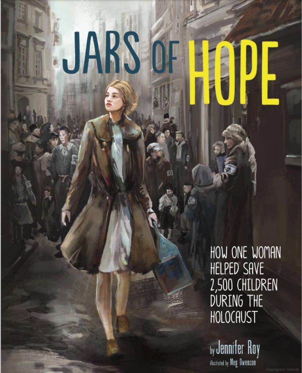 My book with @MegOwenson about Catholic social worker Irena Sendler, a true hero. #HolocaustRemembranceDay @CapstonePub