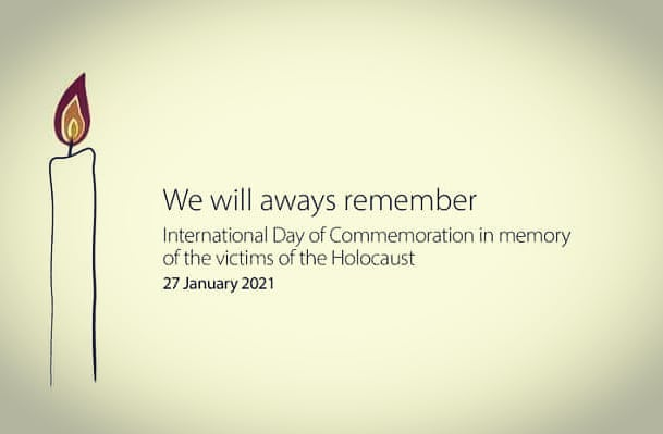 In remembrance of the lives lost #HolocaustRemembranceDay #HolocaustMemorialDay #Holocaust